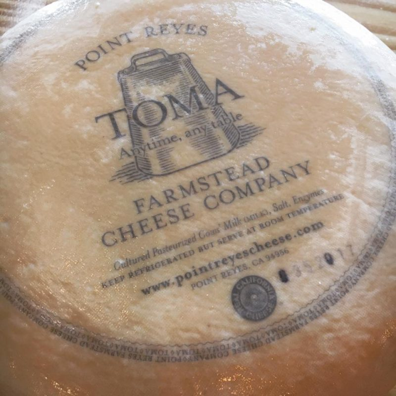 "September 2017""Toma Farmstead Cheese"""